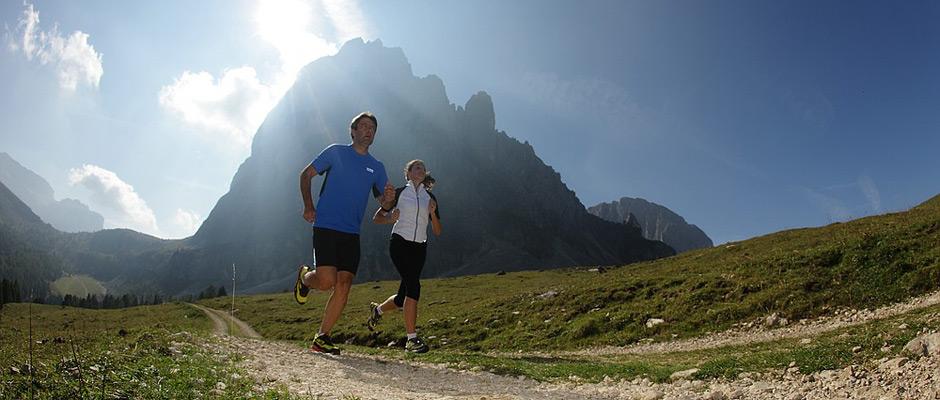 Dolomiten laufen