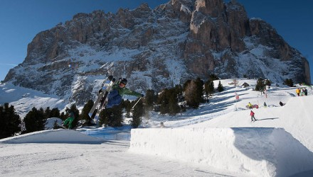 Snowboard und Freestyle